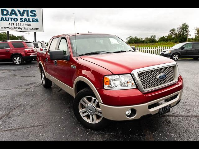 "2007 Ford F-150 SuperCrew Crew Cab 139"" Lariat"