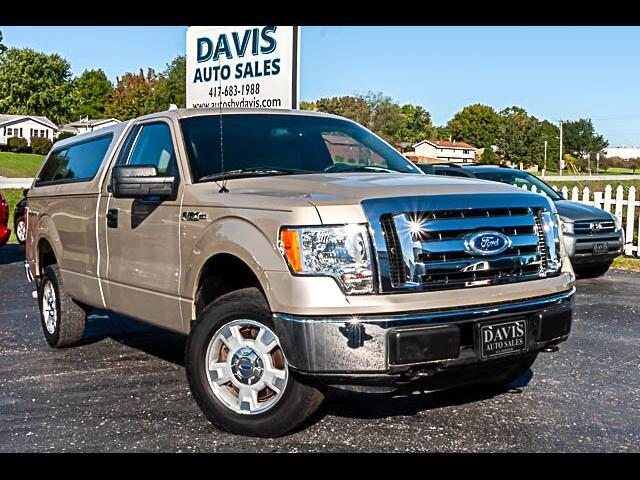"""2010 Ford F-150 Reg Cab 145"""" XLT 4WD"""