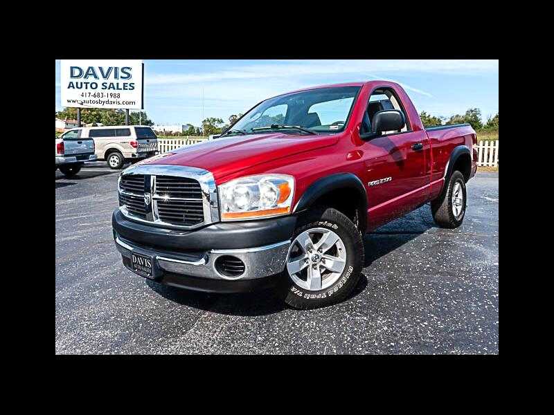 2006 Dodge Ram 1500 ST Short Bed 2WD