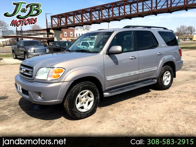2001 Toyota Sequoia Limited 2WD