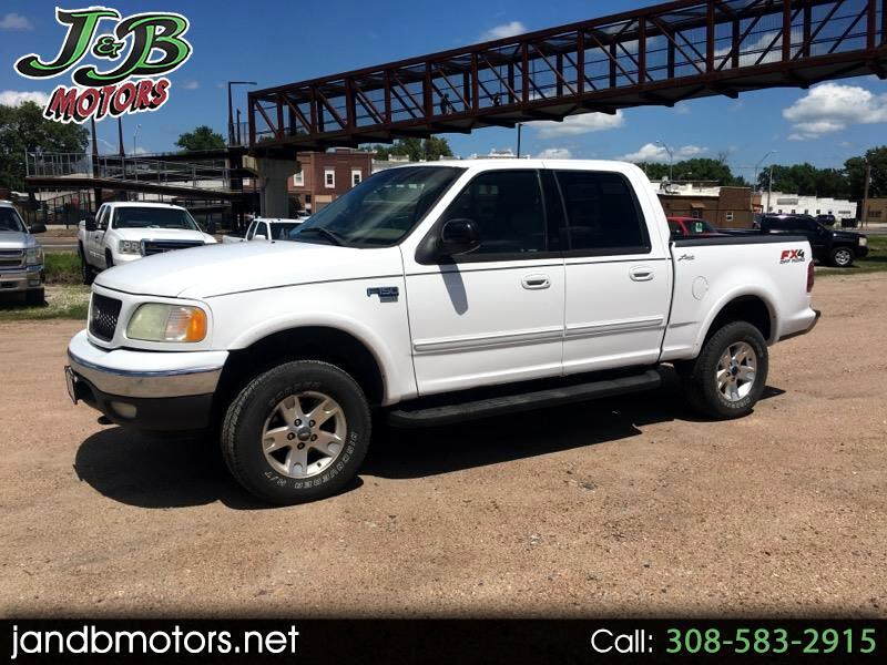 2002 Ford F-150 Lariat 4WD SuperCab 6.5' Box