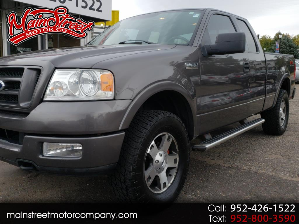 "2004 Ford F-150 4WD SuperCab 133"" FX4"
