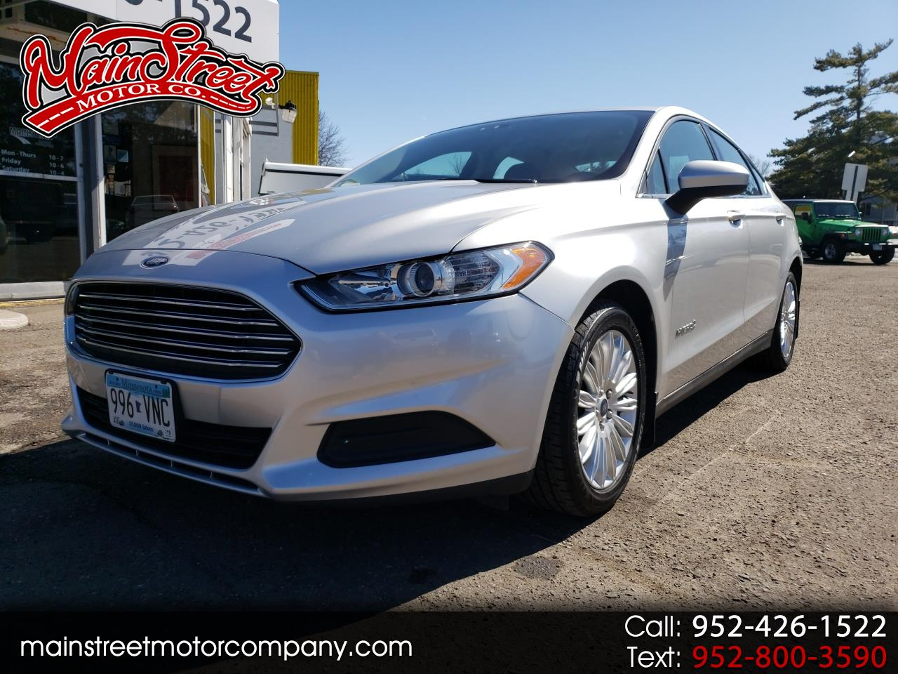 2014 Ford Fusion 4dr Sdn S Hybrid FWD