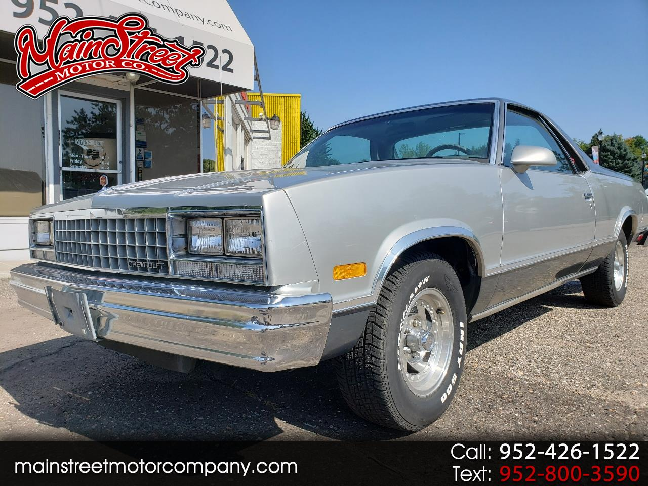 1987 Chevrolet El Camino Base