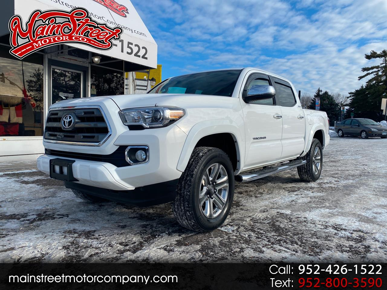Toyota Tacoma Limited Double Cab V6 6AT 4WD 2017