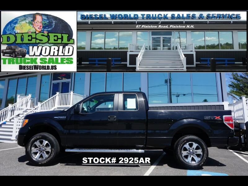 "2013 Ford F-150 4WD SuperCab 133"" STX"
