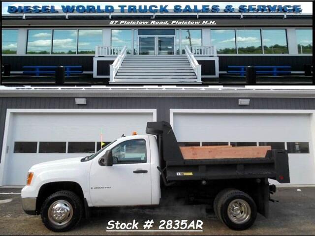 2009 GMC Sierra 3500HD Work Truck DRW 4WD