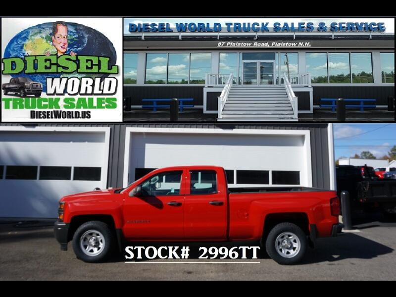 2014 Chevrolet Silverado 1500 Work Truck 1WT Double Cab 2WD