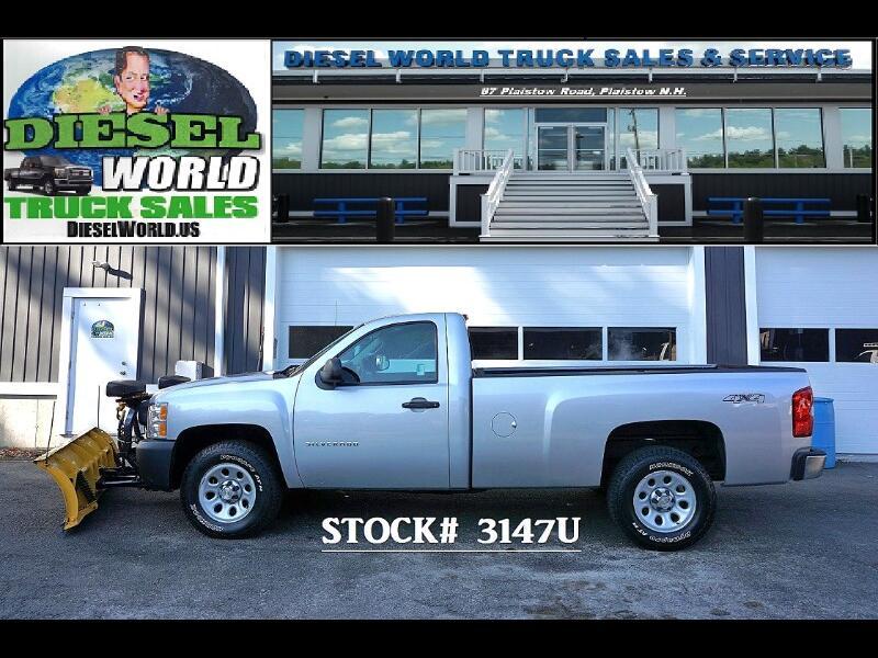 2012 Chevrolet Silverado 1500 Work Truck Long Box 4WD