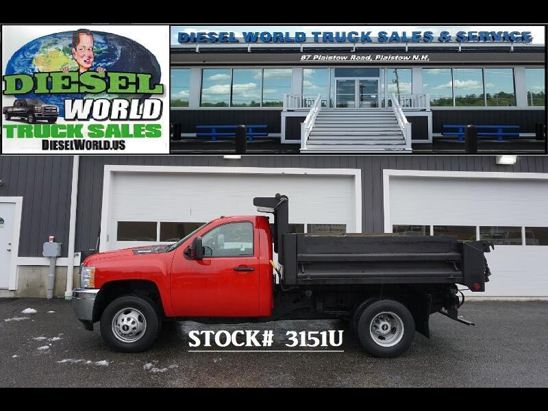 2011 Chevrolet Silverado 3500HD Work Truck DRW 4WD