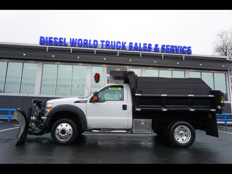 2013 Ford F-550 Regular Cab DRW 4WD