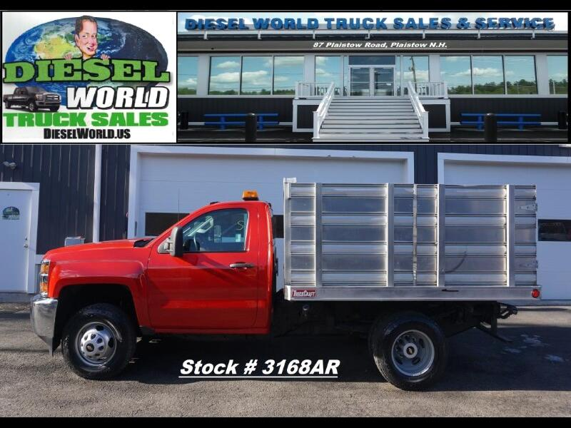 """2015 Chevrolet Silverado 3500HD 4WD Reg Cab 133.7"""" DRW Work Truck"""