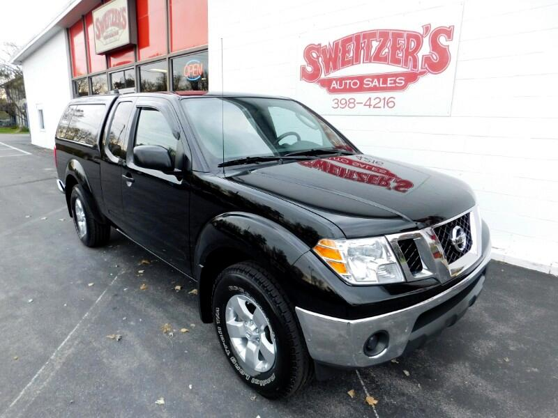 2010 Nissan Frontier 4WD King Cab Manual SE