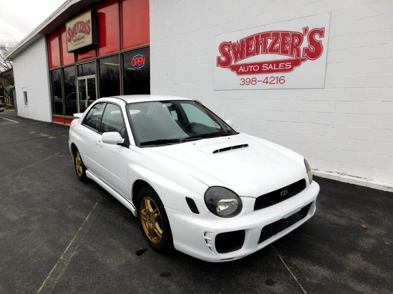 2002 Subaru Impreza Sedan 2.5 WRX Limited Manual Black Int