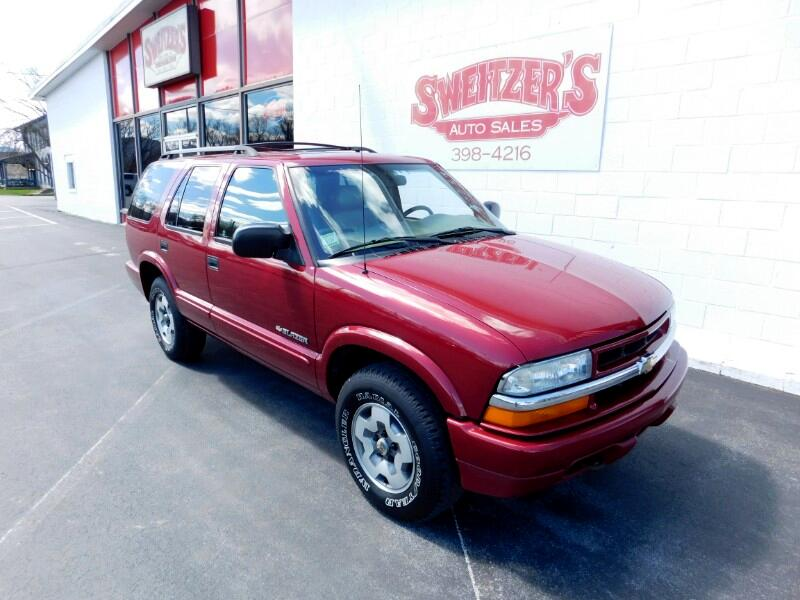2002 Chevrolet Blazer 4dr 4WD LS