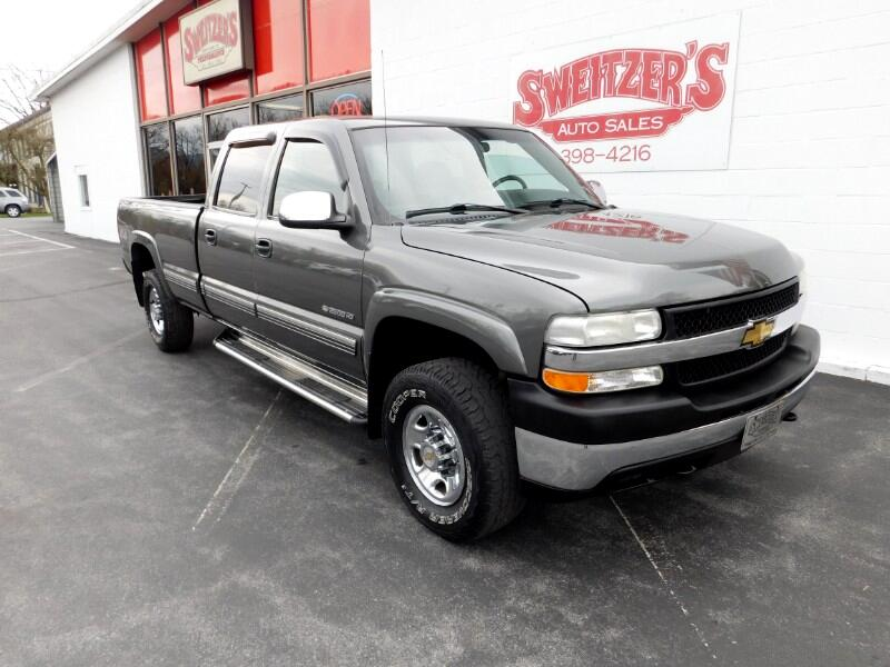 2002 Chevrolet Silverado 2500HD LS Crew Cab Long Bed 4WD