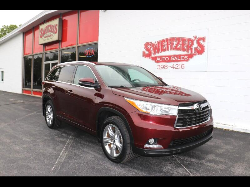 Toyota Highlander AWD 4dr V6 Limited (Natl) 2016