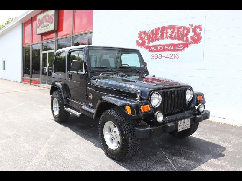 2002 Jeep Wrangler 2dr Sahara