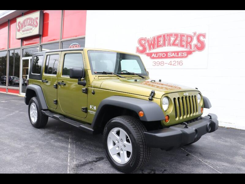 2008 Jeep Wrangler 4WD 4dr Unlimited X