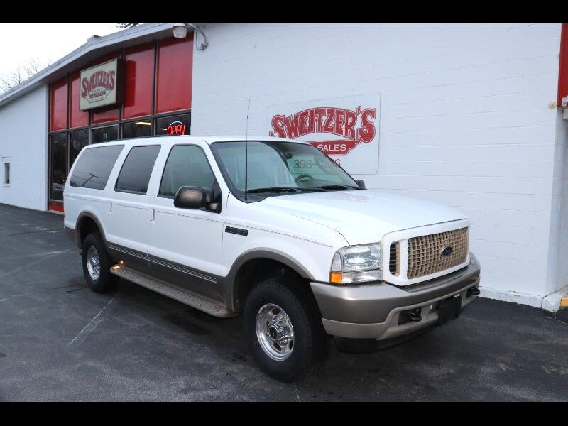 """Ford Excursion 137"""" WB 6.8L Eddie Bauer 4WD 2003"""