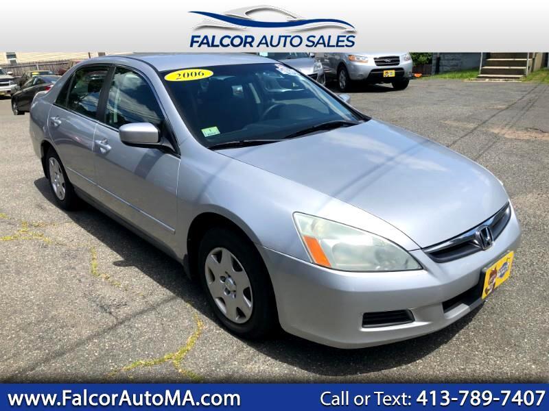 2006 Honda Accord For Sale >> Used 2006 Honda Accord Lx Sedan At For Sale In Agawam Ma 01001