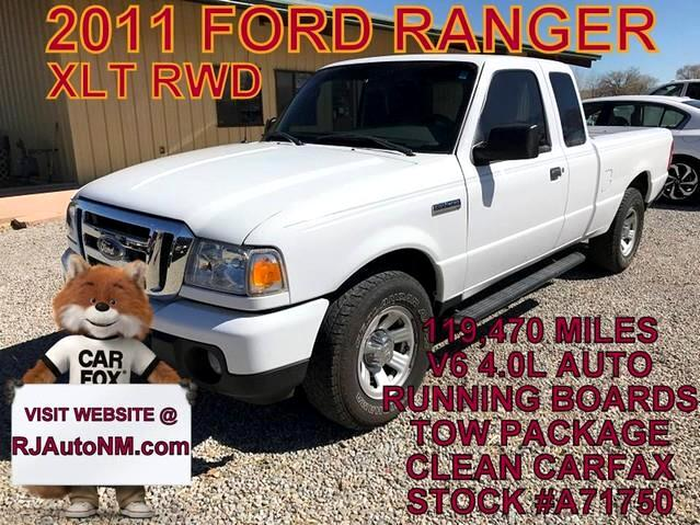 2011 Ford Ranger XLT SuperCab 4-Door 2WD