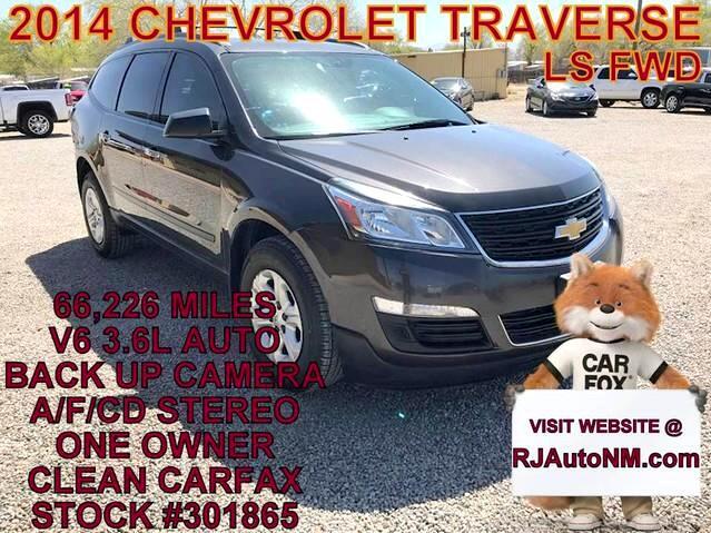 2014 Chevrolet Traverse LS FWD w/PDC