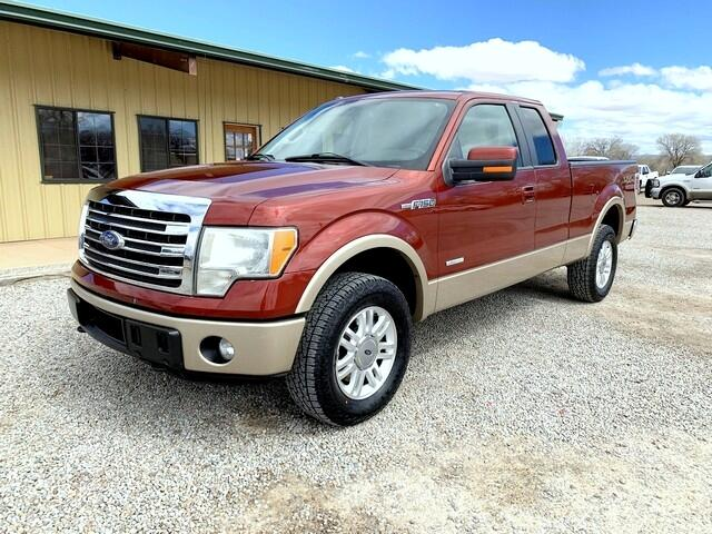 "2014 Ford F-150 Supercab 139"" Lariat 4WD"