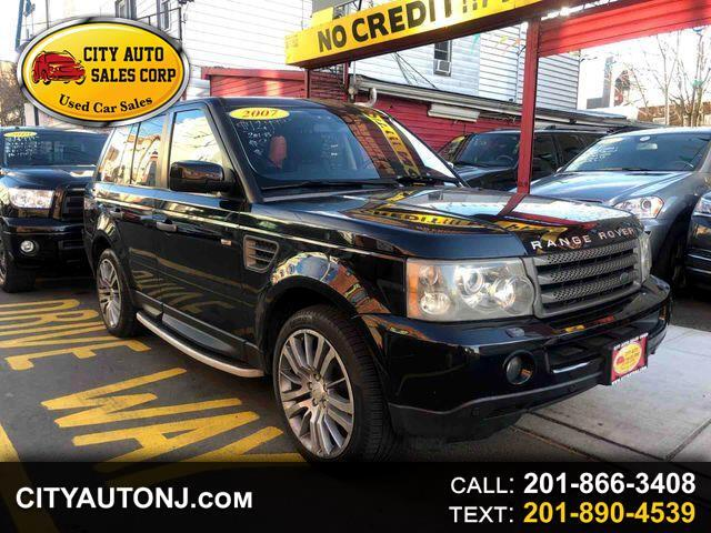 2007 Land Rover Range Rover Sport HSE Sport Utility 4D