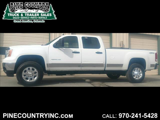 2013 GMC Sierra 3500 3500 SLE CREW LONG