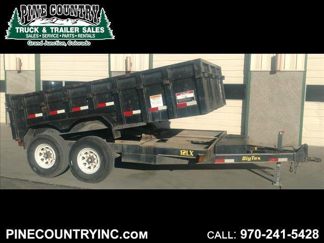 2005 Big Tex 12LX 12 12K 12 ft Dump Trailer