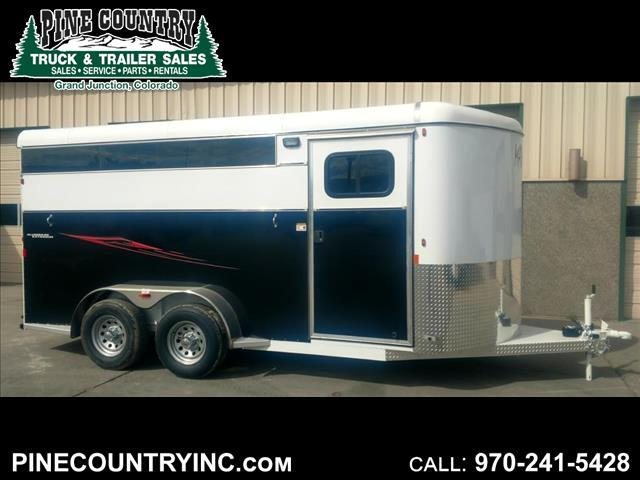 2018 Maverick MAV3H-7K Three Horse High Side Trailer