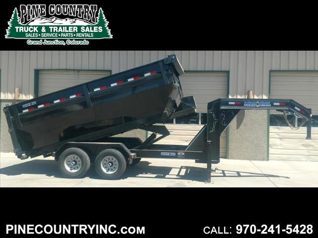 2017 Load Trail DROP N GO 14 14 ft Roll Off Dump Trailer