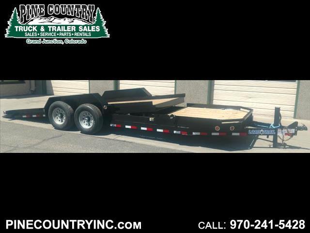 2017 Load Trail TD222 22 ft Low Pro 14K Tilt Bed