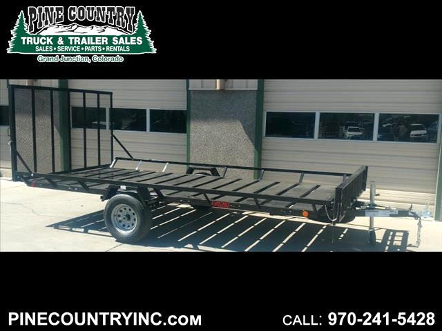 2018 Echo EEW-14-14 3 Place Side Load ATV Trailer