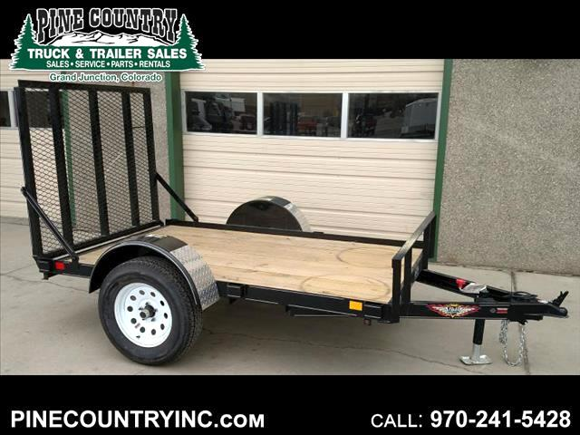 2017 H&H U1-08-1 5x8 Ramp Gate 3500 Axle