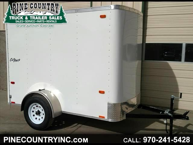 2017 Pace OB5X8SI2 Pace 5x8 Cargo 6'' Extra Heigh