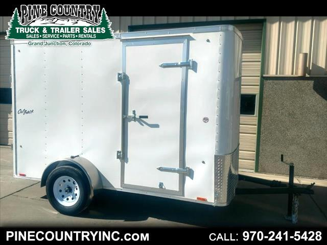 2018 Pace OB6X10SI2 Pace Outback 6x10 Ramp Door