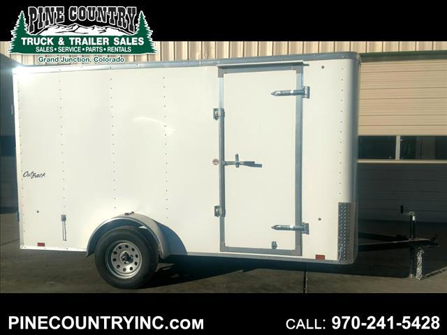 2018 Pace OB612SI2 6X12 CARGO DOOR SINGLE AXLE