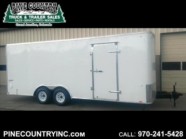 2018 Pace OB85X16TE3 10K 20Ft Cargo Door Enclosed