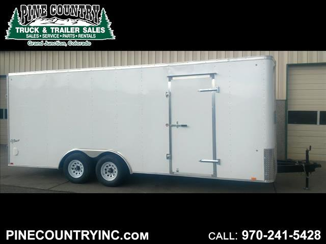 2018 Pace OB85X16TE3 8.5x20 10K Ramp Door