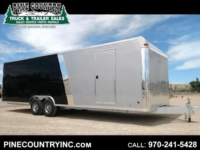 2016 Mission EZEC 8X28 CH 28' All Aluminum Car Hauler
