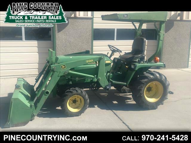 1988 John Deere 850 Tractor with loader and mower