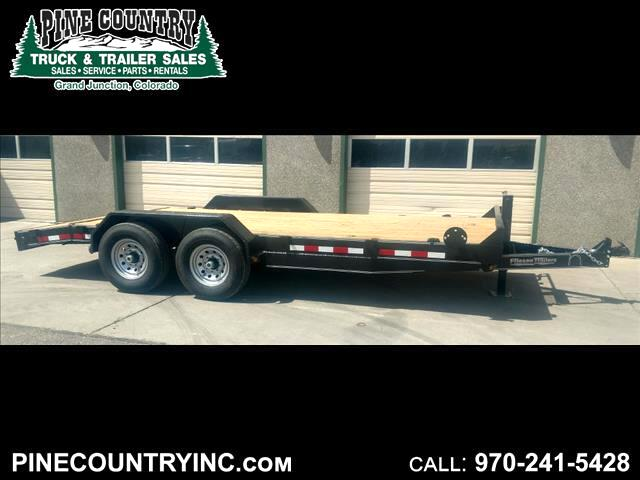 2018 Friesen EQX148318 18 Ft 14K Equipment Trailer
