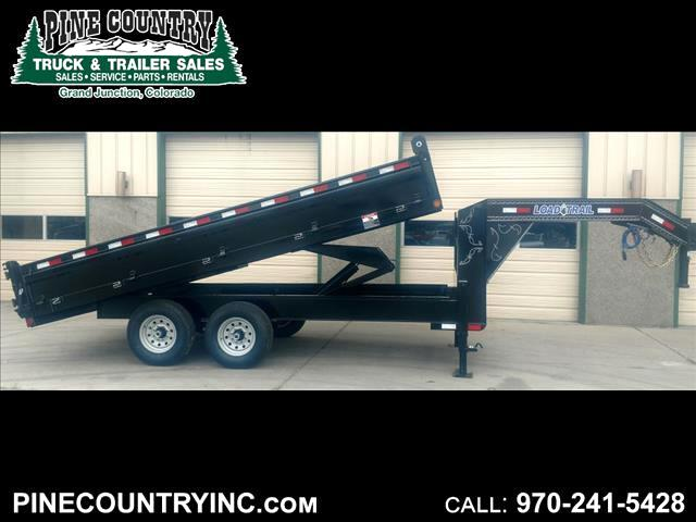 2018 Load Trail GD162 96x16 14K Goose Dump Trailer