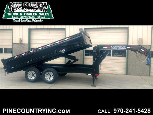2018 Load Trail GD142 96x14 14K Goose Dump Trailer