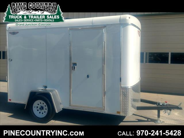 2019 H&H H7210SRT-035 6x10 Premium Enclosed Ramp