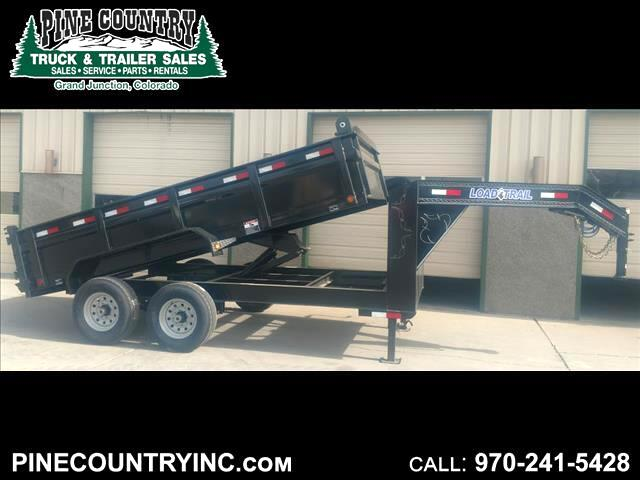2018 Load Trail GD142 83x14 Gooseneck Dump Trailer