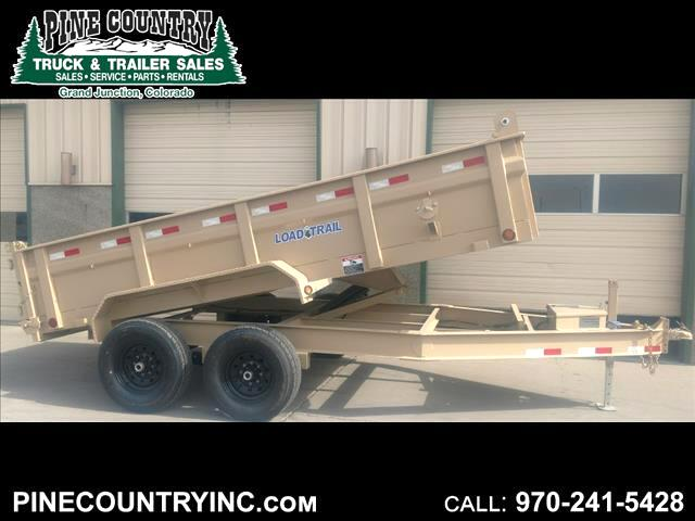 2018 Load Trail DT142 83X14 14K Dump Trailer