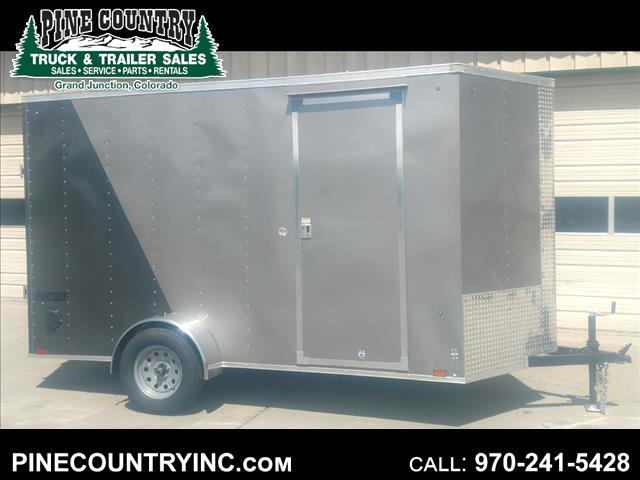 2019 Pace JV6X12SI2 6x12 V-Nose Ramp Door